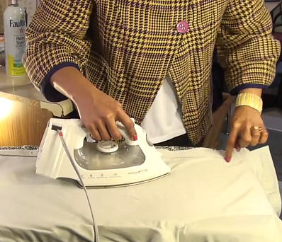 how to iron clothes properly