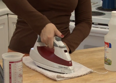 How To Clean A Steam Iron Quickly Amp Easily
